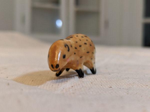 marmotte porcelaine