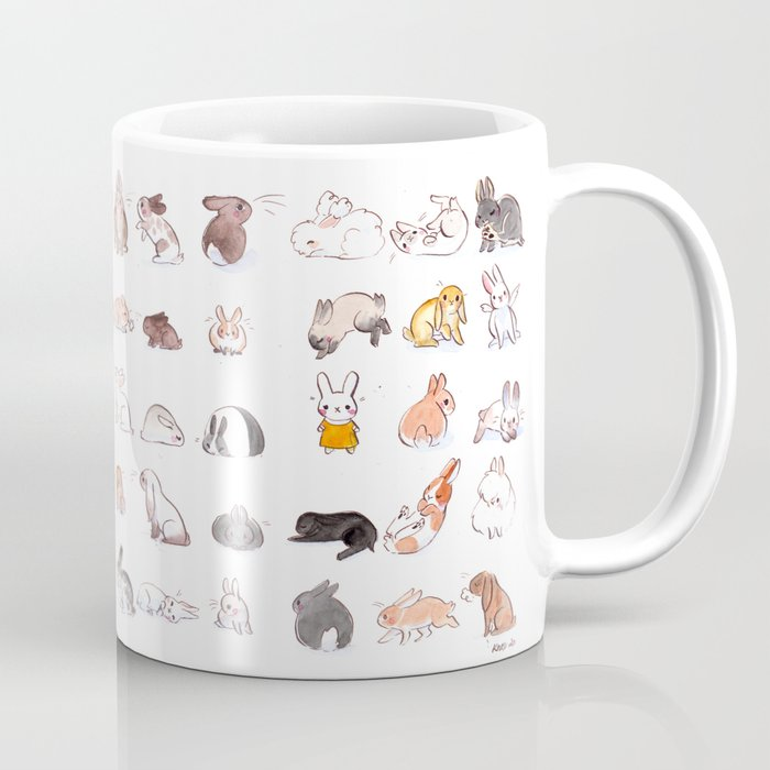 illustration lapins mug