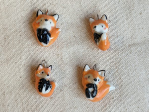 Fox pendants