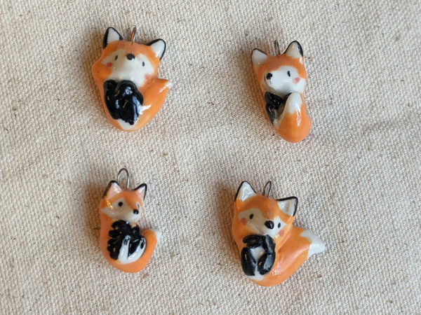 Fox pendants