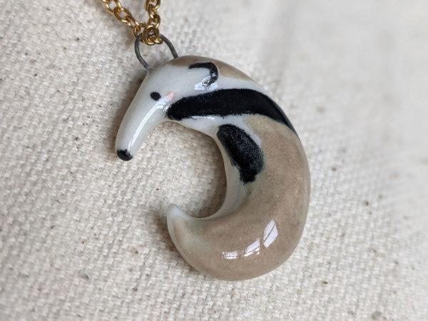 anteater pendant