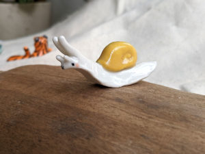escargot porcelaine snail