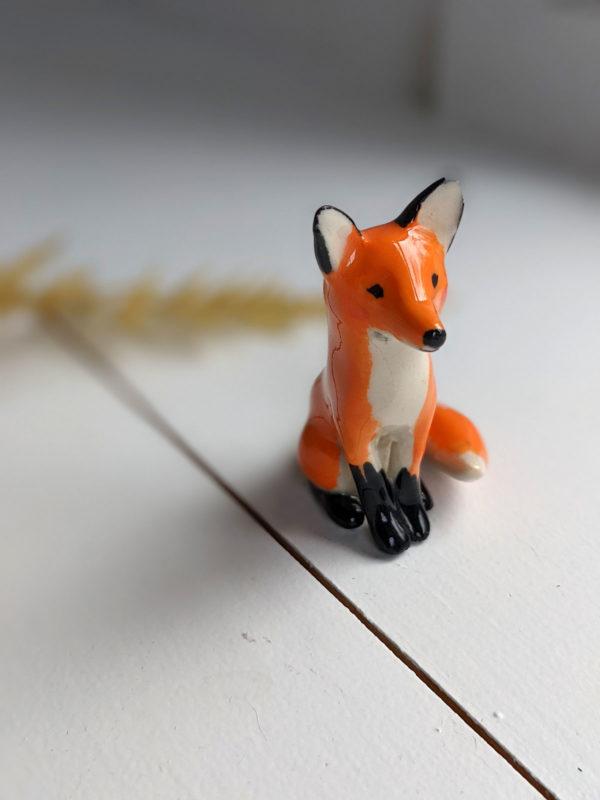 porcelain fox figurine