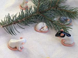 famille de rats