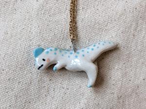 dilophosaurus pendant