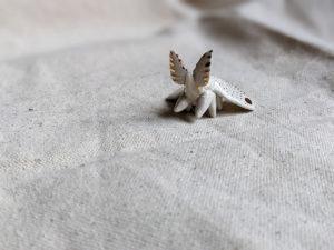 moth porcelain