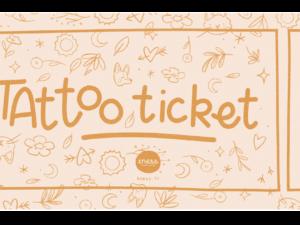Tattoo Ticket Tatouage