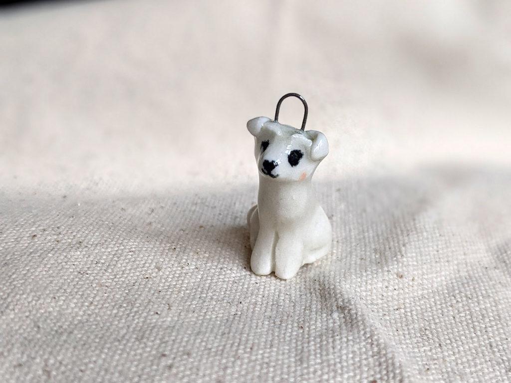 bichon custom porcelain jewelry
