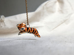 leaping tiger pendant