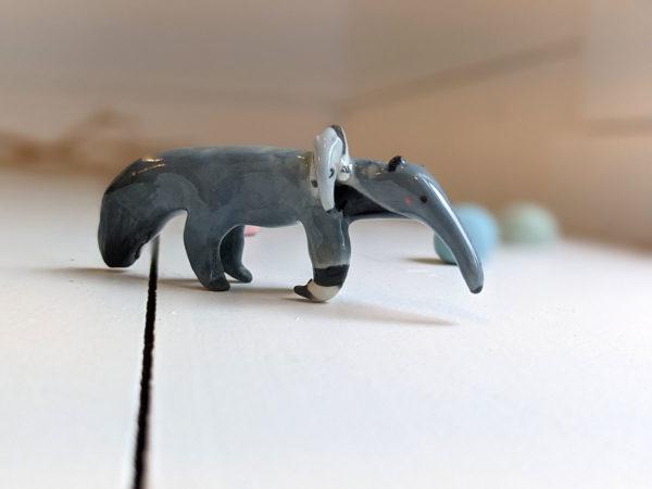 anteater porcelain figurine