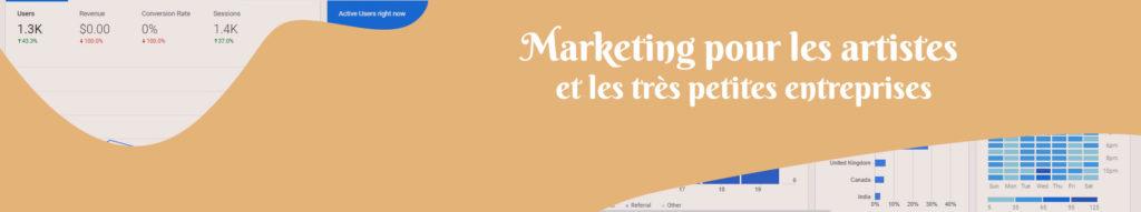 marketing pour les artistes