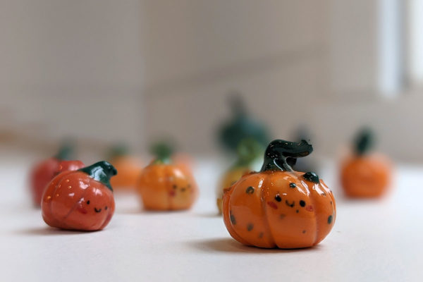 porcelain pumpkins