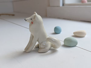 samoyede figurine