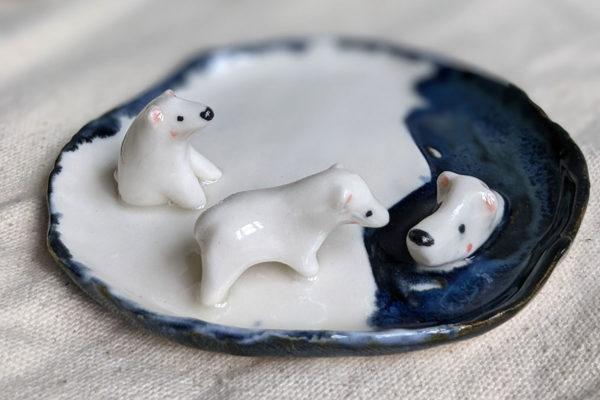 polar bear tray