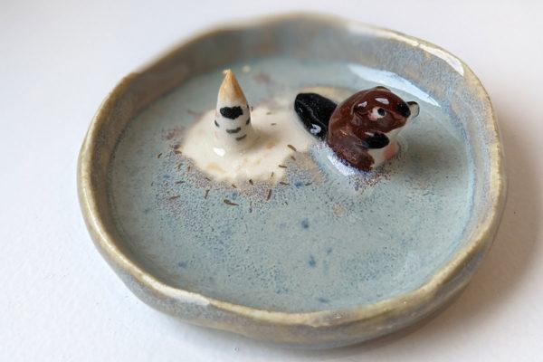 Beaver Jewelry Tray