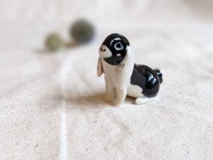 Figurine Lapin porcelaine