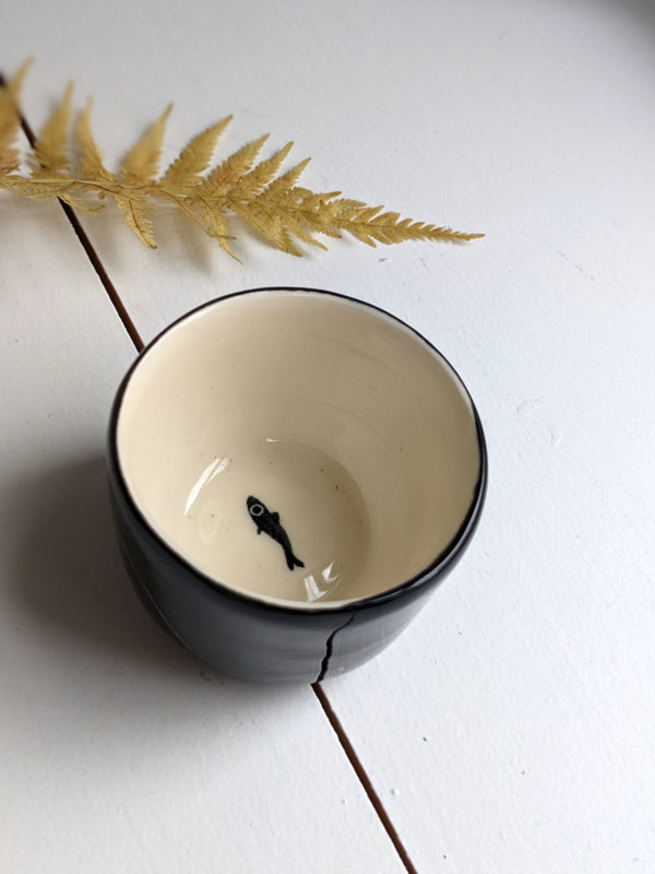 abyssal porcelain tumbler handmade